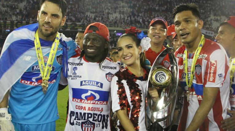 Junior de Barranquilla se proclamó campeón de la Copa Águila 2017