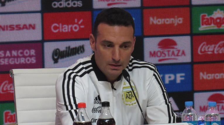 Lionel Scaloni, seleccionador interino de Argentina
