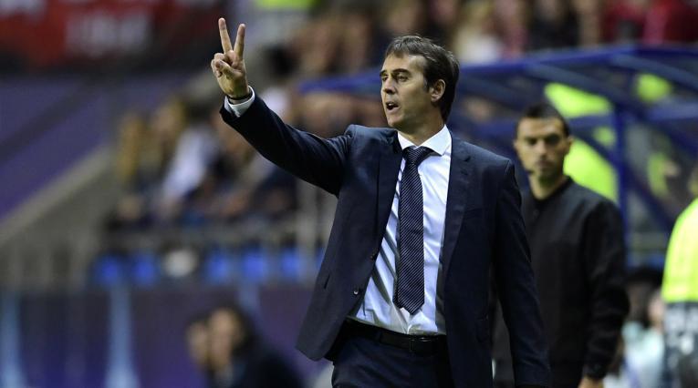 Julen Lopetegui, técnico del Real Madrid