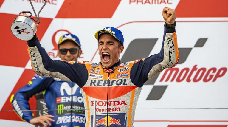 Marc Márquez, piloto de Honda