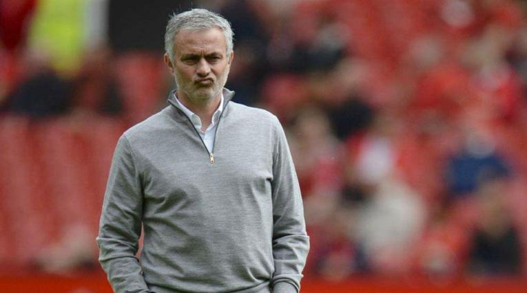 José Mourinho, director técnico del Manchester United
