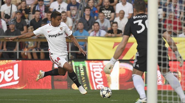 Luis Fernando Muriel, delantero del Sevilla