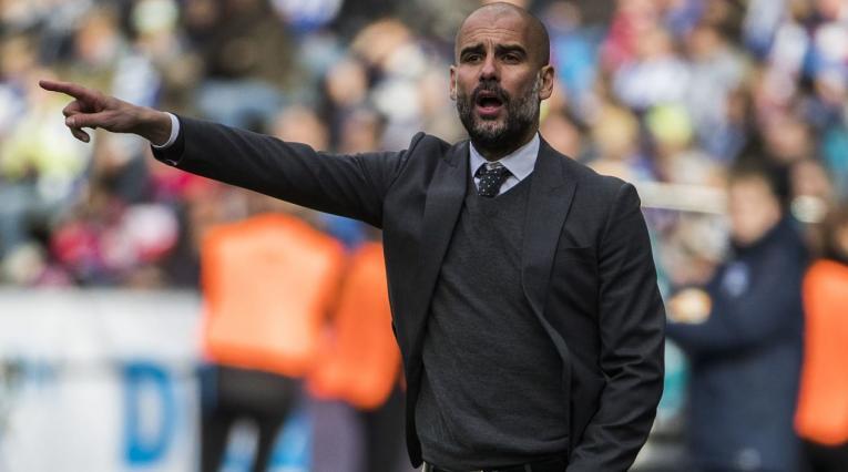 Pep Guardiola, director técnico del Manchester City