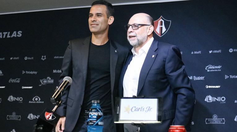 Rafael Márquez nuevo presidente deportivo de Atlas