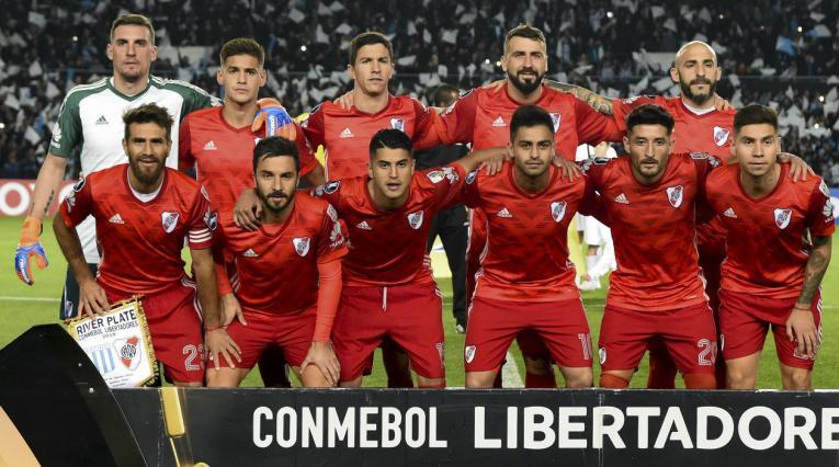 River Plate en Copa Libertadores, previo al duelo ante Racing