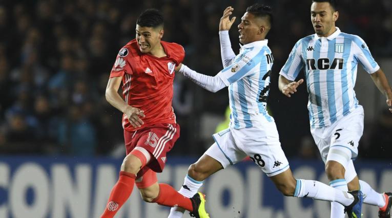 Racing vs River, en Copa Libertadores