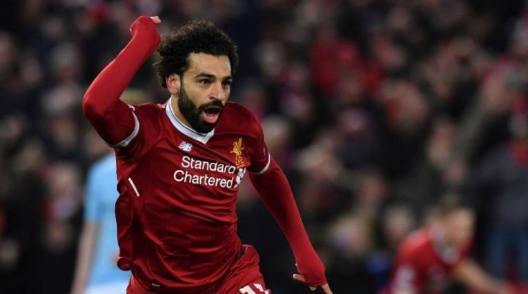 Mohamed Salah, delantero del Liverpool