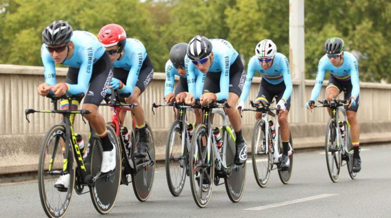 Selección Colombia de Ciclismo Manzana Postobón