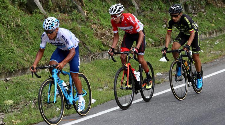Walter Pedraza ganó la etapa 4 de la Vuelta a Colombia