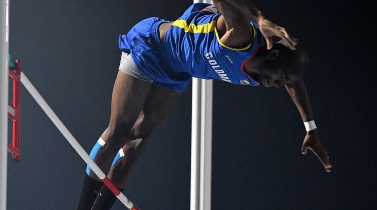 Walter Viáfara, atleta colombiano