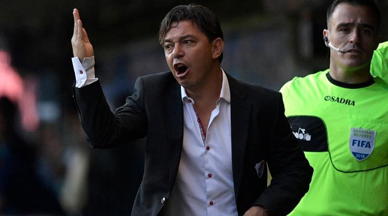 Marcelo Gallardo, técnico de River Plate y campeón de la Copa Libertadores en 2015
