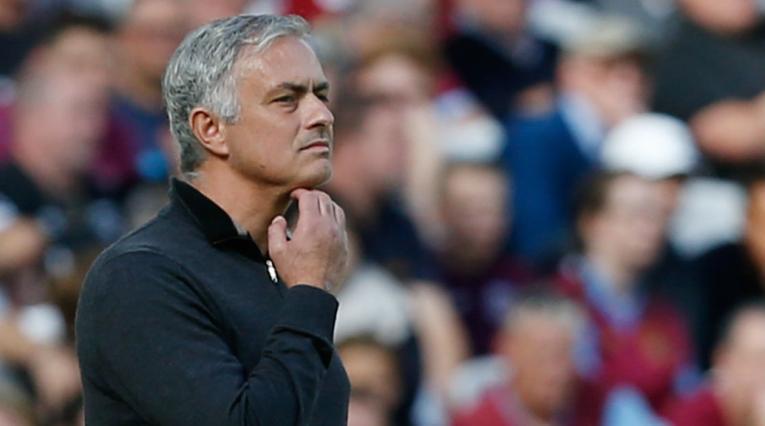 José Mourinho, técnico del Manchester United