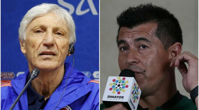 José Pékerman y Jorge Almirón