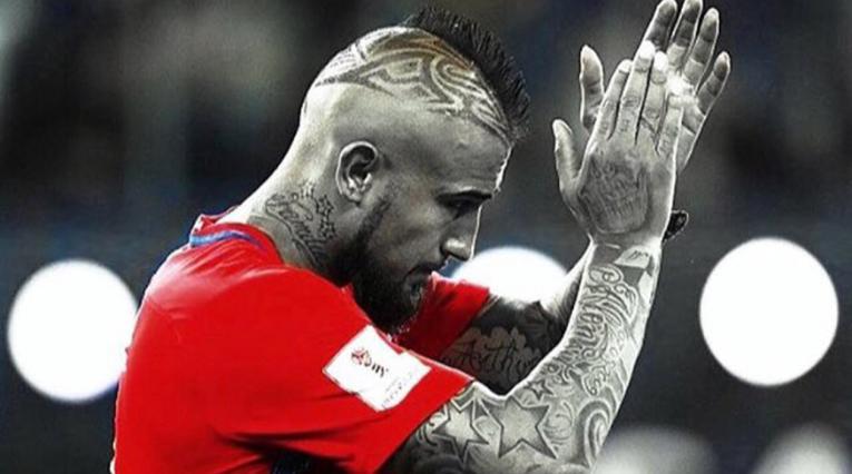 Arturo Vidal, jugador chileno
