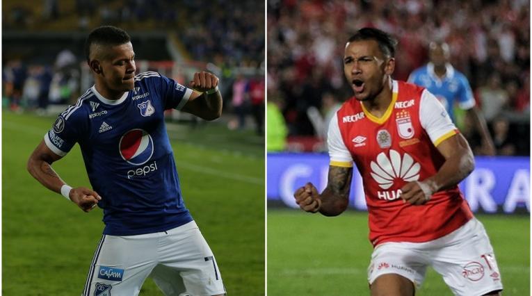 Ayron Del Valle y Wilson Morelo