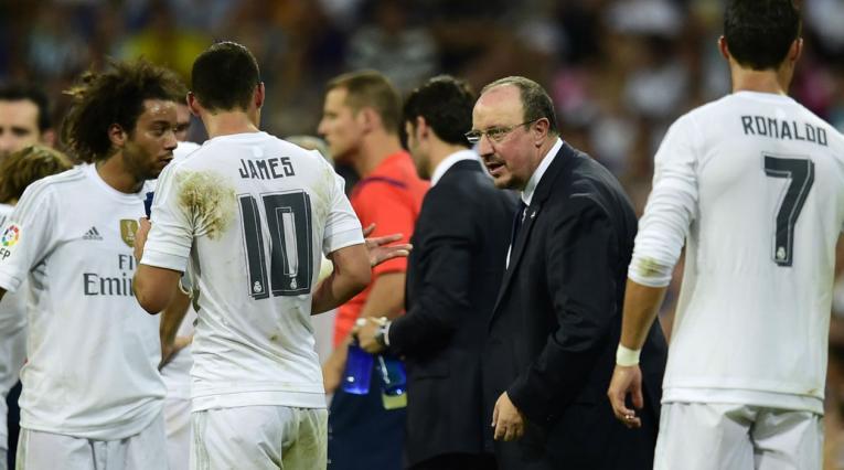 James y Rafa Benitez