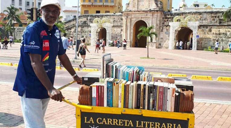 Martín Murillo,, líder del proyecto Mi Carreta Literaria desde 2007
