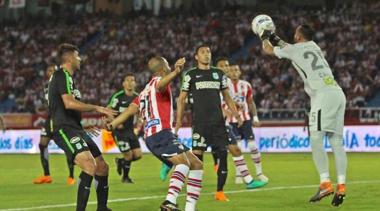 Atlético Nacional vs Junior, Liga Águila 2018