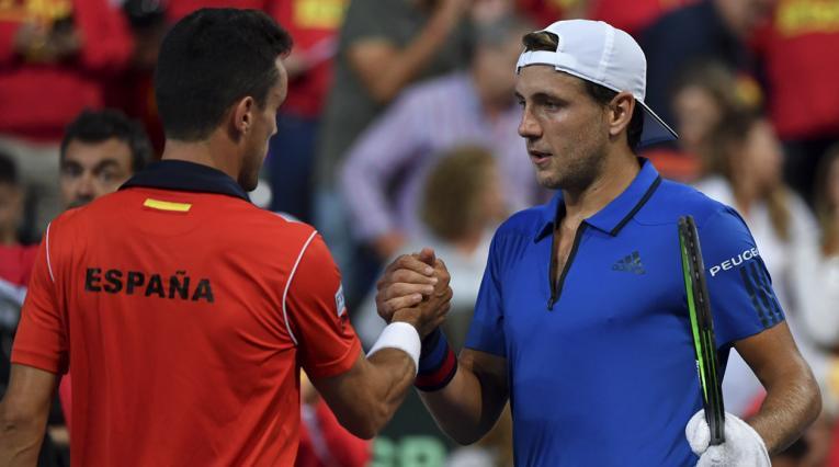 España - Francia, Copa Davis