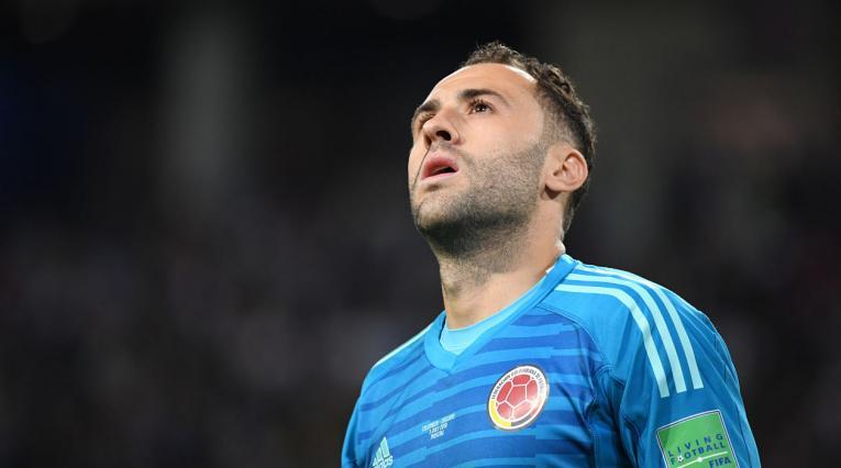 David Ospina, arquero de la Selección Colombia