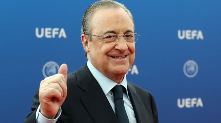 Florentino Pérez, presidente del Real Madrid desde 2010