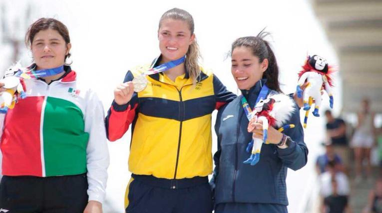 Gabriela Bollé, deportista de BMX que estará presente en los Juegos Olímpicos de la Juventud