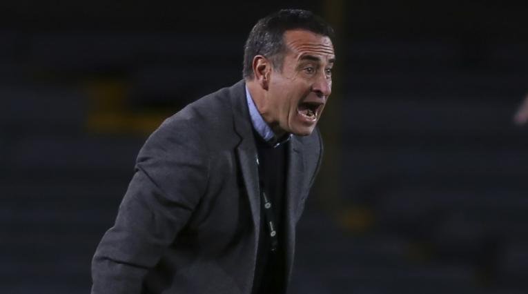 Guillermo Sanguinetti, técnico de Independiente Santa Fe