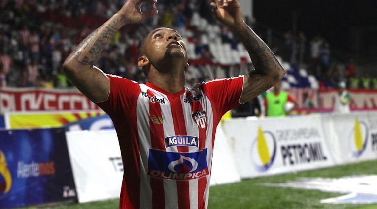 Jarlan Barrera, jugador de Junior de Barranquilla