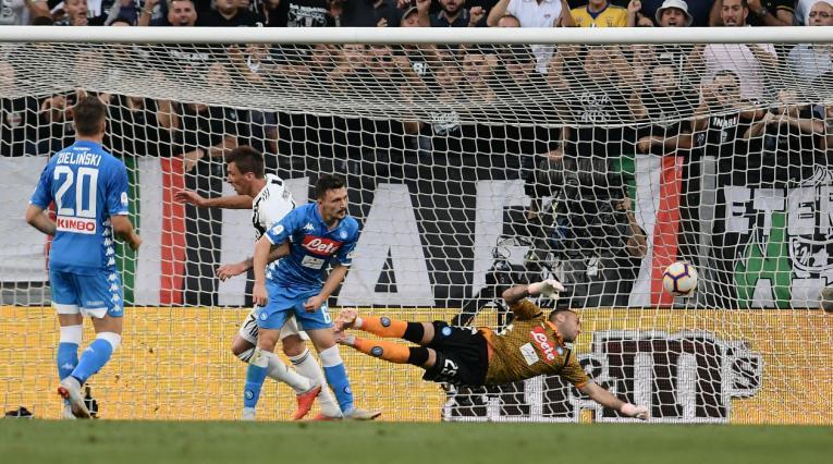 Juventus vs Napoli - Serie A de Italia