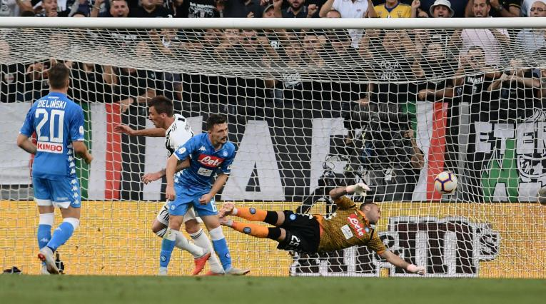 Juventus vs Napoli, Serie A de Italia