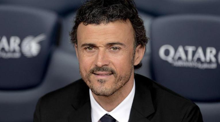 Luis Enrique, entrenador de la selección española