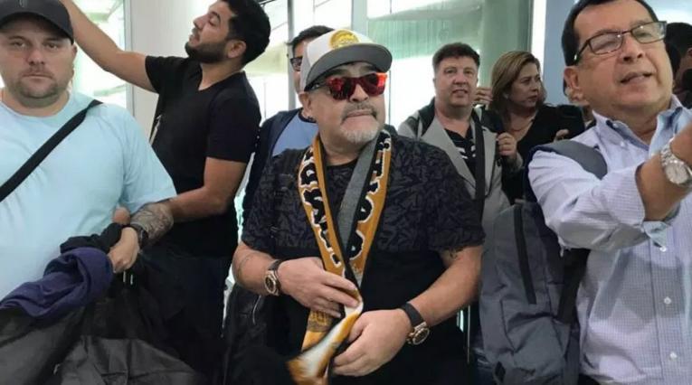 Diego Maradona, Dorados de Sinaloa