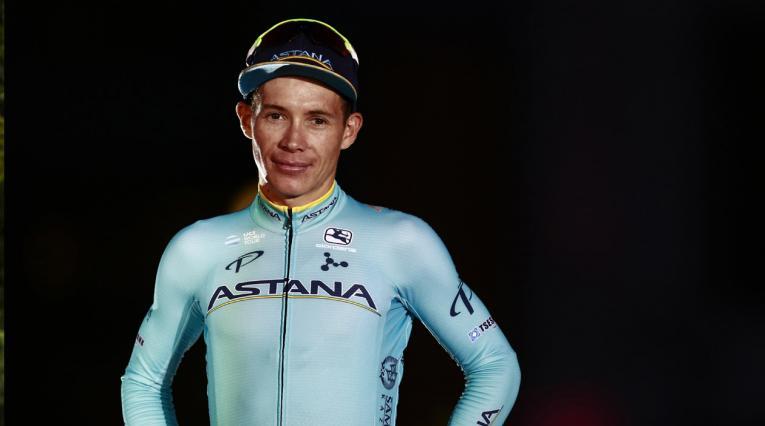 Podio Vuelta a España 2018: Miguel Ángel López