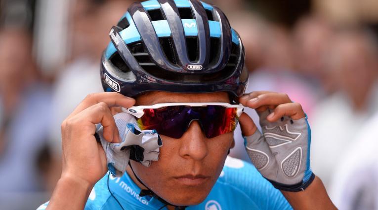 Nairo Quintana (Movistar) subió un puesto y ahora tercero en la general