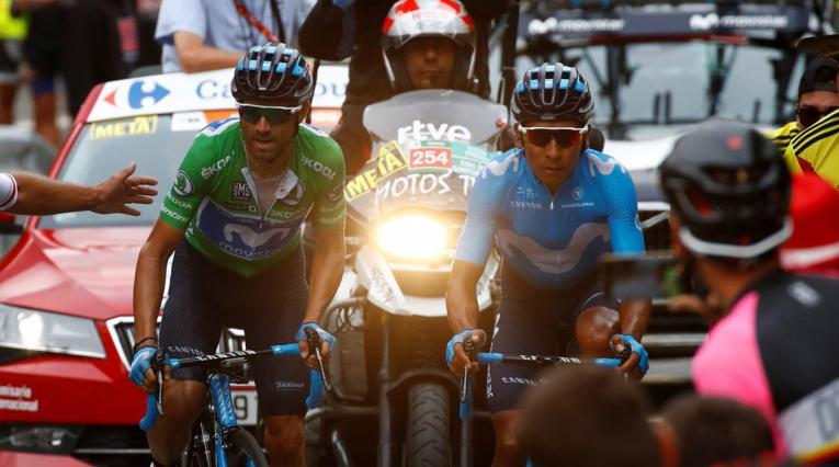 Nairo Quintana Vuelta 2018