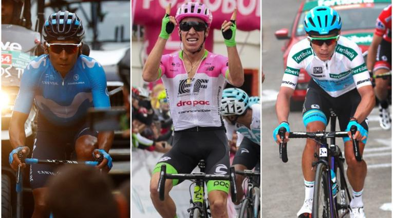 Los favoritos por Colombia en el Mundial de Ciclismo.