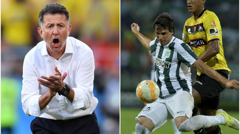 Juan Carlos Osorio (Técnico colombiano) y Pablo Zeballos (futbolista paraguayo)