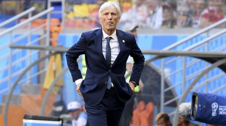 José Pékerman, técnico de Colombia