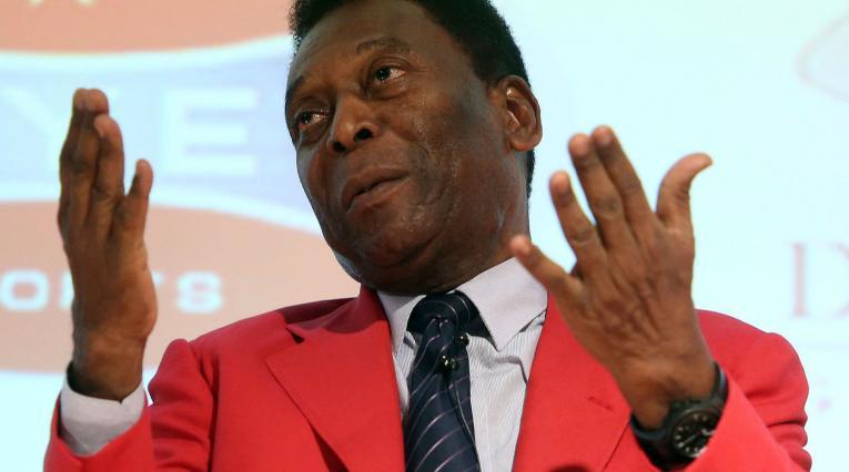 Edson Arantes do Nascimento, más conocido como Pelé.
