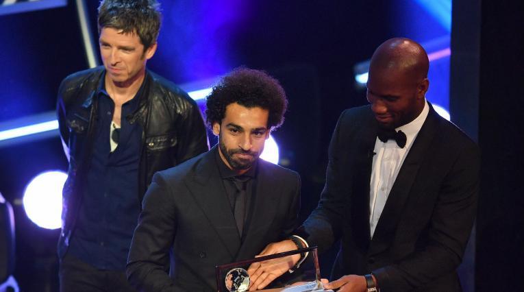 Noel Gallagher, Mohamed Salah y Didier Drogba