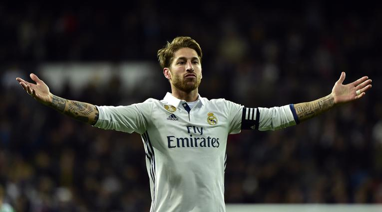 Sergio Ramos, defensor del Real Madrid