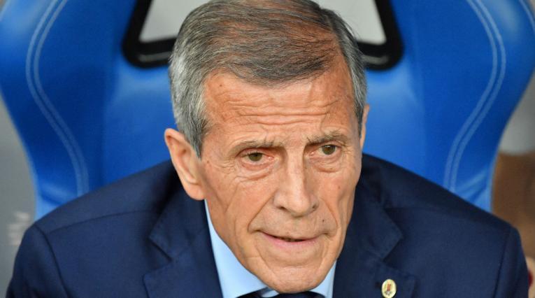 Óscar Washington Tabarez, técnico de Uruguay
