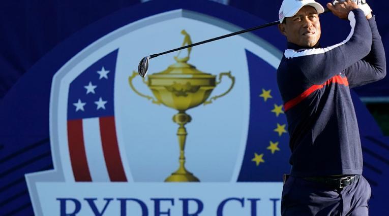 Tiger Woods, en la Ryder Cup