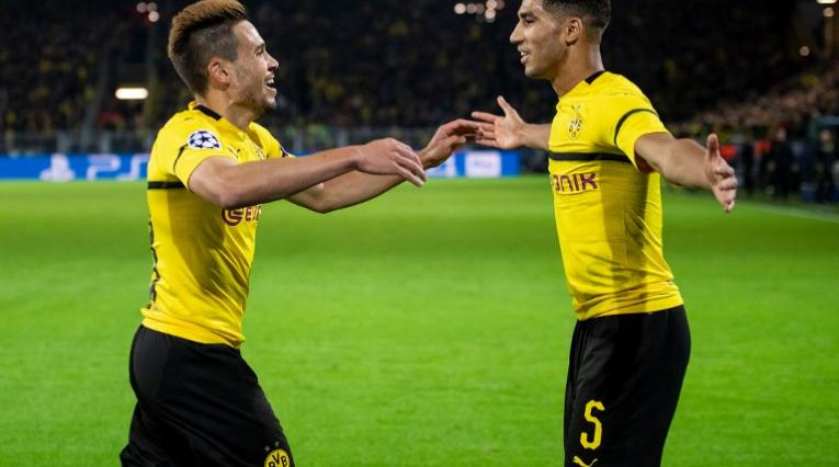Borussia Dortmund vs Atlético de Madrid en la tercera fecha de la Liga de Camopeones