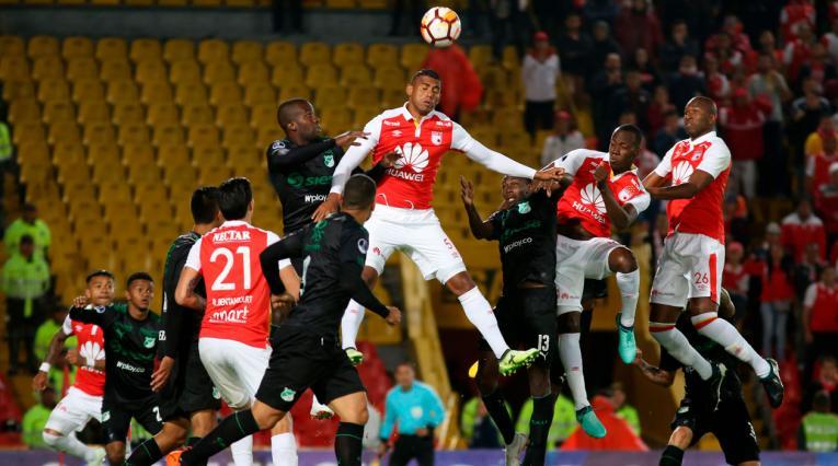 Santa Fe Vs Deportivo Cali tuvo el estreno del VAR en un estadio del fútbol colombiano