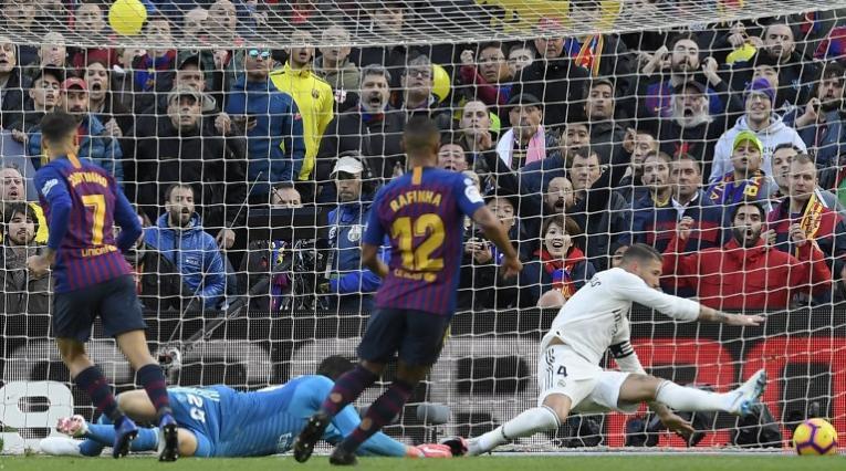 Barcelona goleó al Real Madrid