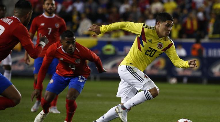 Colombia, con Arturo Reyes como técnico, anotó nueve goles y recibió cuatro tantos