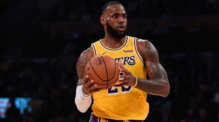 Lebron James, la nueva estrella de Los Angeles Lakers