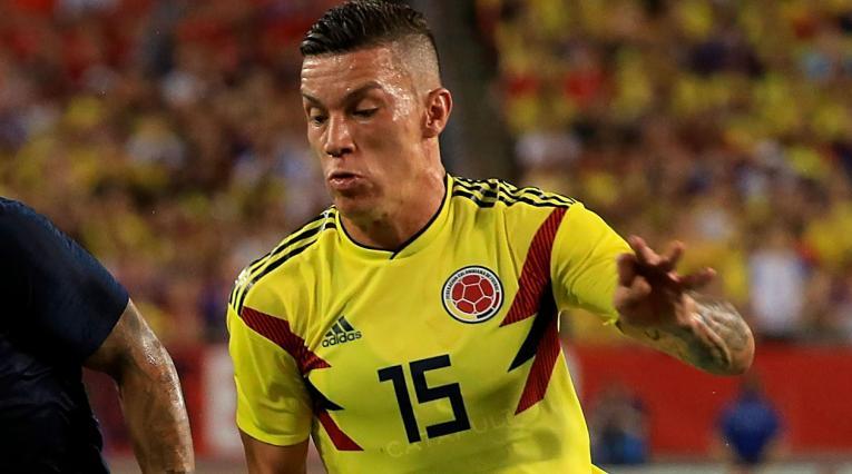 Mateus Uribe volvería a ser titular con la Selección Colombia