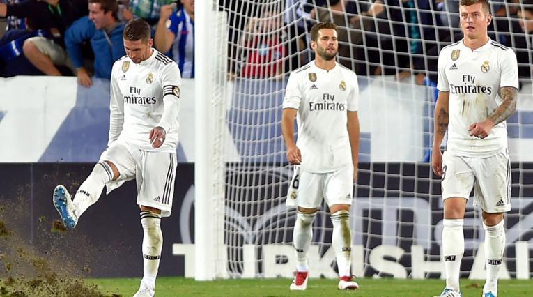 Real Madrid, equipo que suma dos derrotas consecutivas, contanto Liga y Champions